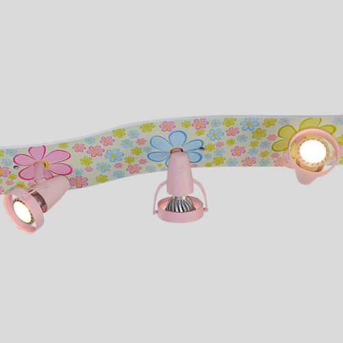 Niermann Standby Colourful Flowers ceiling light/spotlight 6 headed 695