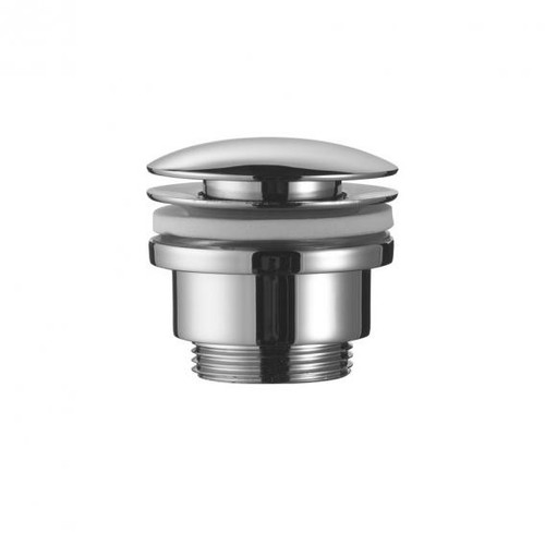 "Avenarius design shaft valve 1 1/4"" round with klick-klack connection"