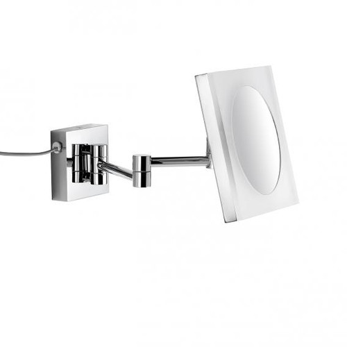 Avenarius wall-mounted beauty mirror with LED light