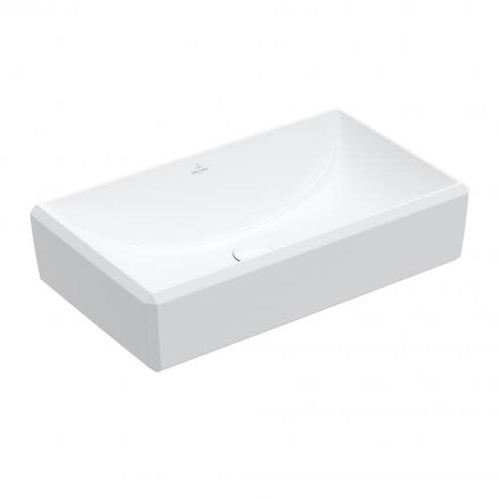 Villeroy & Boch Antheus countertop washbasin starwhite, with CeramicPlus