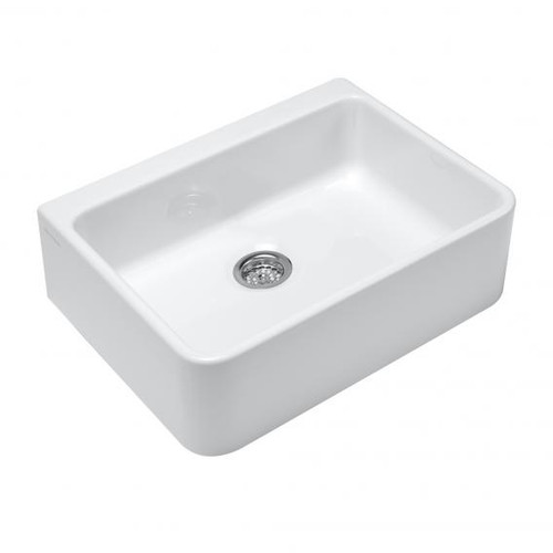 Villeroy & Boch O.novo sink without overflow white with AntiBac 632110T1