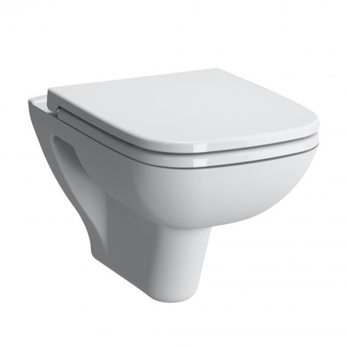 VitrA S20 wall-mounted washdown toilet with bidet function white, with VitrAclean 5507B403-0850