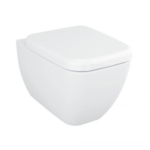 VitrA Shift wall-mounted, washdown toilet with bidet function white, with VitrAclean 4392B403-1618