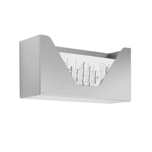 Wagner-Ewar sanitary bag storage container WP 155 for surface mounting satin matt stainless steel