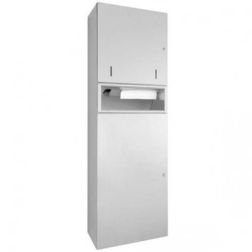 Wagner-Ewar combination WP 5725 surface-mounted stainless steel high polished finish