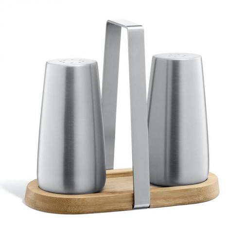 Zack BEVO salt / pepper shaker set with cruet stand