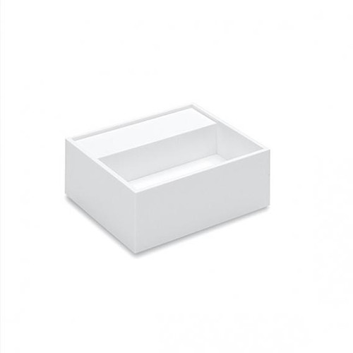 Cosmic Compact washbasin W: 32.5 D: 32.5 cm white, without tap hole