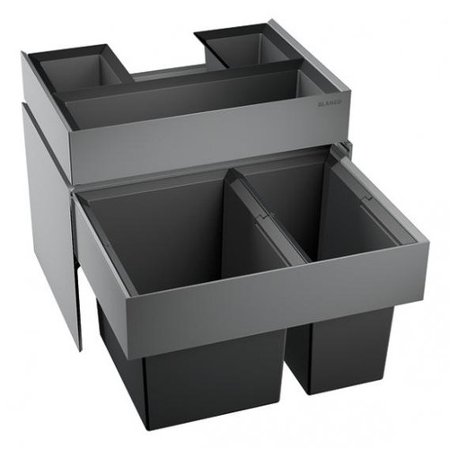 Blanco Select waste separation system with 2 bins with organisation drawer 518725