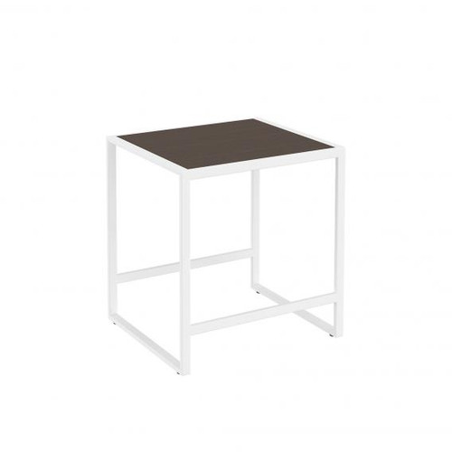 Cosmic The Grid stool dark oak/matt white