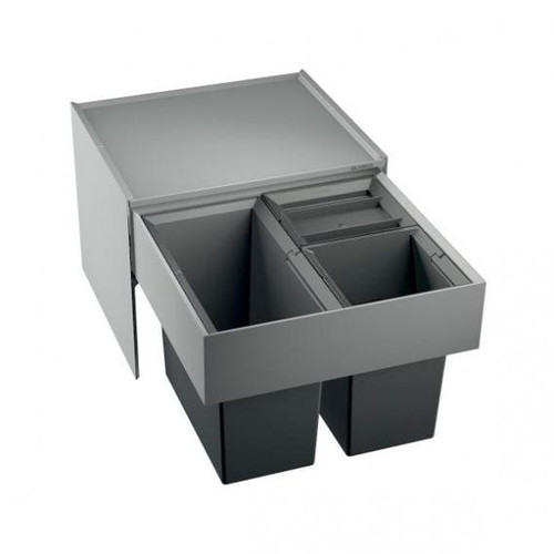Blanco Select waste separation system with 3 bins without organisation drawer