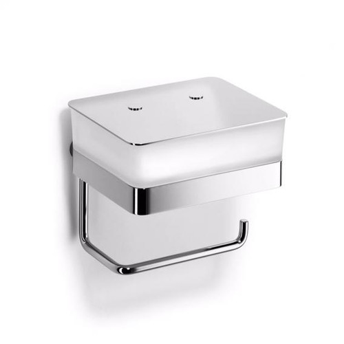 Giese toilet-duo for wet wipes with toilet roll holder 31770-02