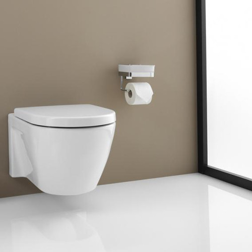 Giese Gifix 21 toilet duo for moist toilet tissue with toilet roll holder 21770-02