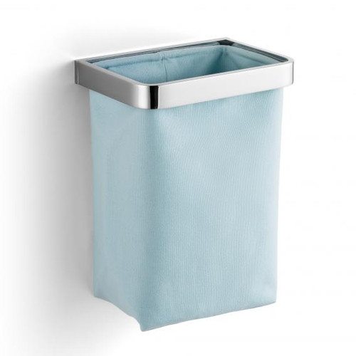 Giese guest towel basket chrome/light blue 40520-02
