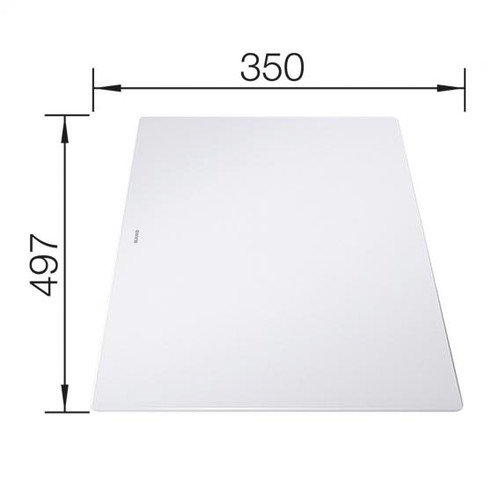 Blanco Axia III 5 S sink with glass chopping board white 523219