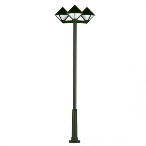 Albert cast aluminium lamp post