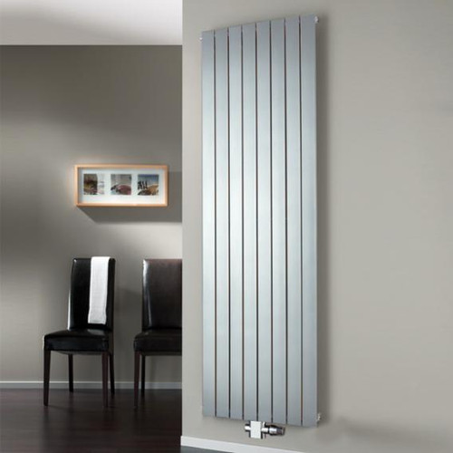 HSK ALTO radiator with centre connection silver