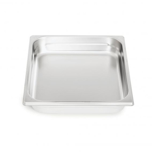 Rieber waterstation stainless steel gastronorm container 2/3 unperforated
