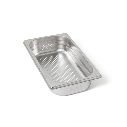 Rieber waterstation stainless steel gastronorm container 1/3 unperforated