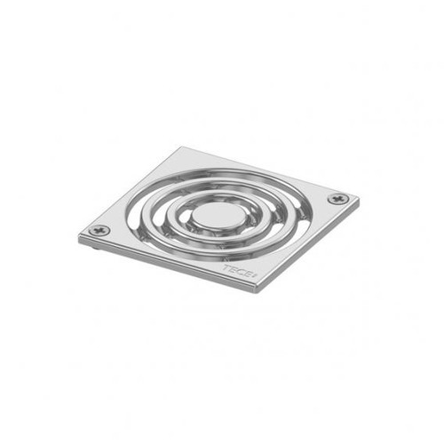 TECE drainpoint S design grate stainless steel, screw-down L: 10 W: 10 cm