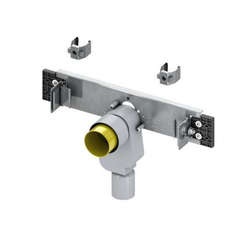 TECE profil connection unit for washbasin with flush-mounted odour trap
