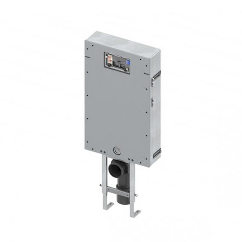 TECE box plus brick-wall-mounted cistern, H: 111 cm, front facing and front actuation