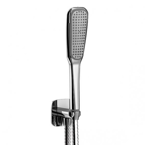treos Series 193 hand shower with wall bracket and integrated wall elbow