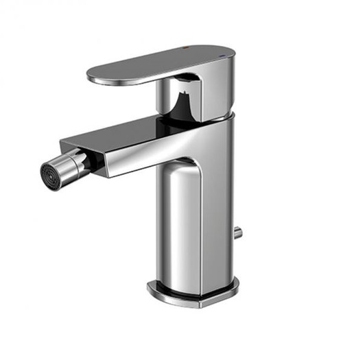 treos series 173 single lever bidet fitting with pop-up waste set
