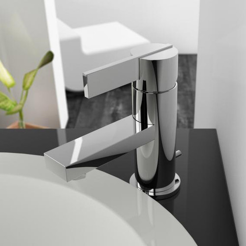 treos Series 195 single lever basin mixer with pop-up waste set 195.01.1000