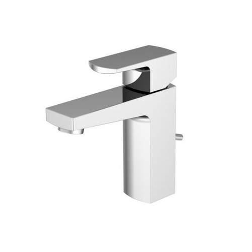 treos Series 197 single lever basin mixer, with pop-up waste set