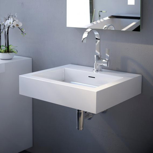 treos Series 710 washbasin with 1 tap hole 710.04.5045