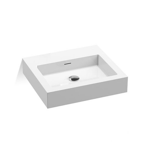 treos Series 710 washbasin without tap hole 711.04.5045