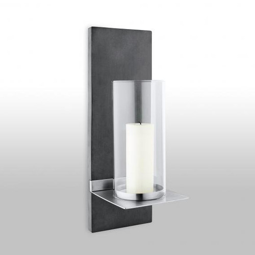 Blomus FINCA wall-mounted candle holder with candle 65422