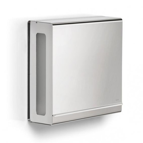 Blomus NEXIO paper towel dispenser polished stainless steel 66666
