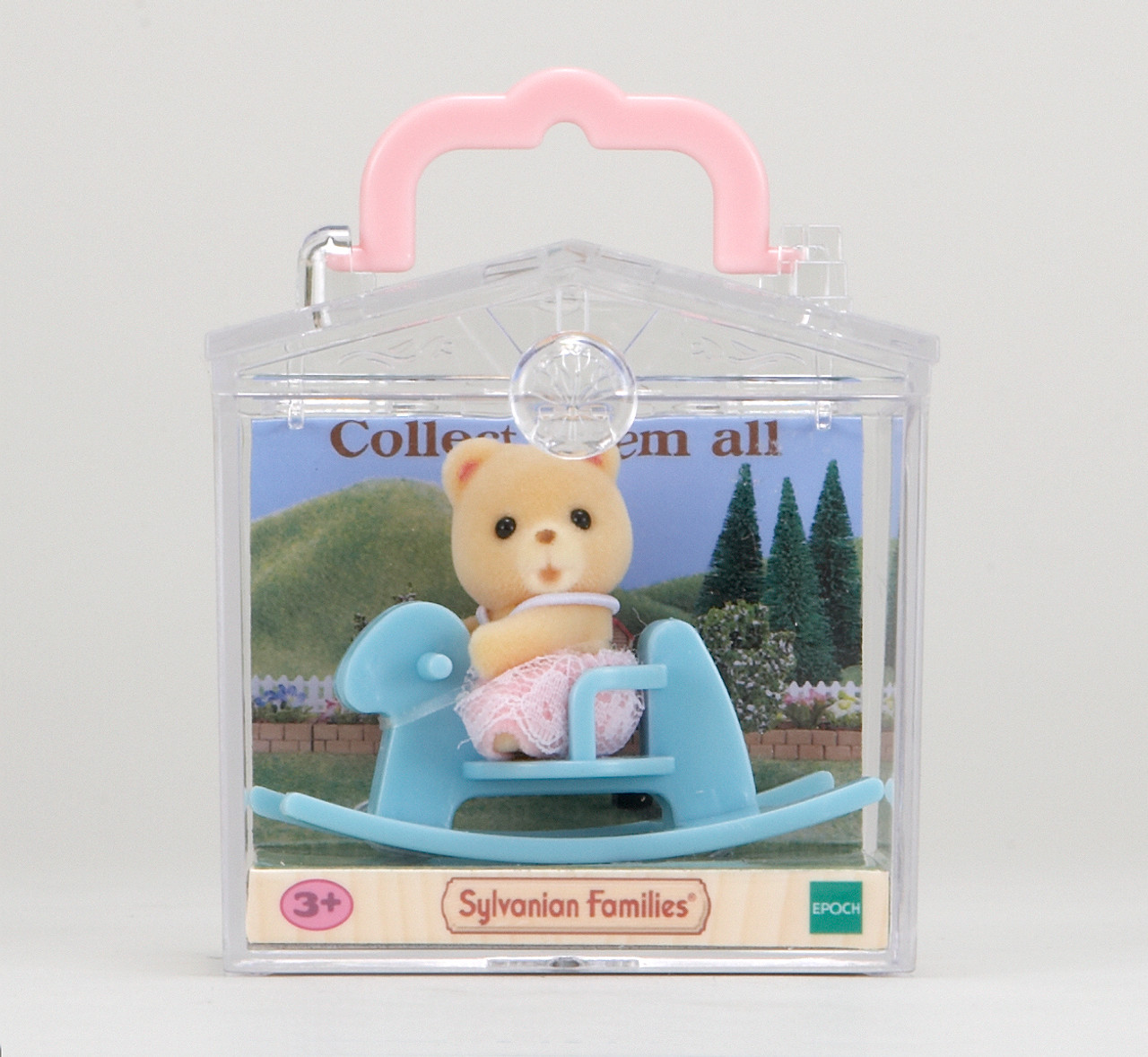Sylvanian Families Bear On Rocking Horse Baby Carry Case Jac In A Box