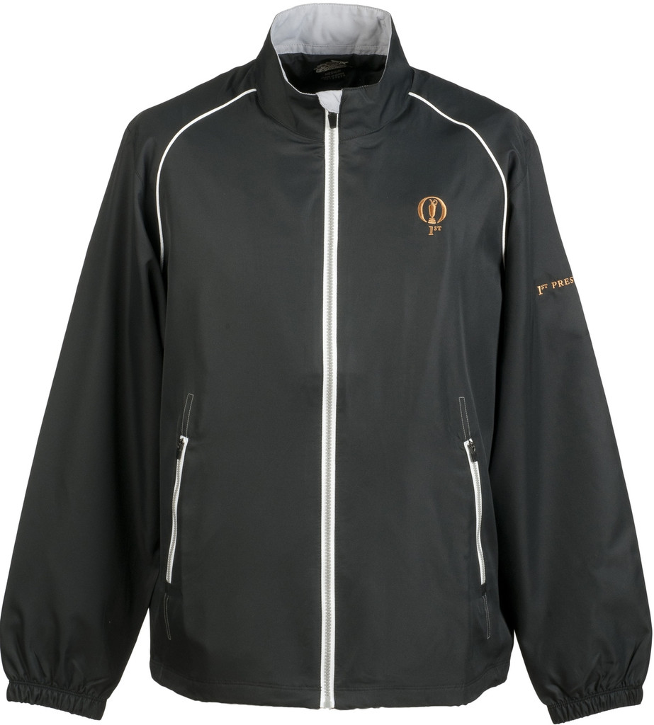 Prestwick Collection Ahead Mens Jacket in Black