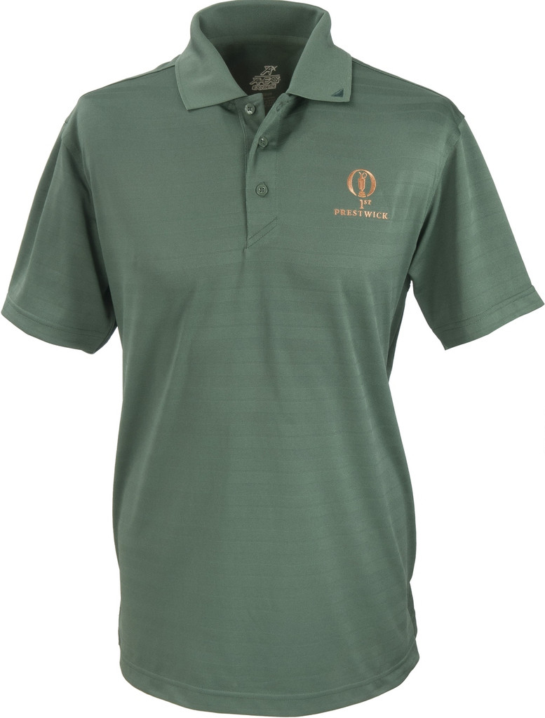 Prestwick Collection Ahead Mens Plain Polo - Evergreen