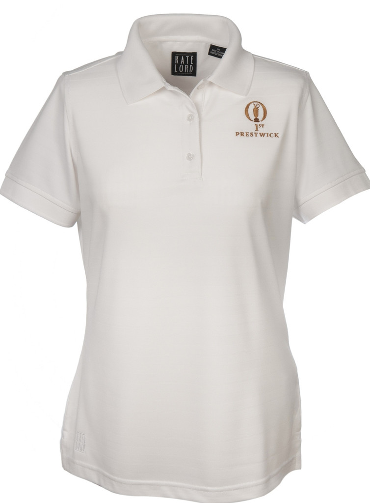 Prestwick Collection Kate Lord Ladies Polo - White