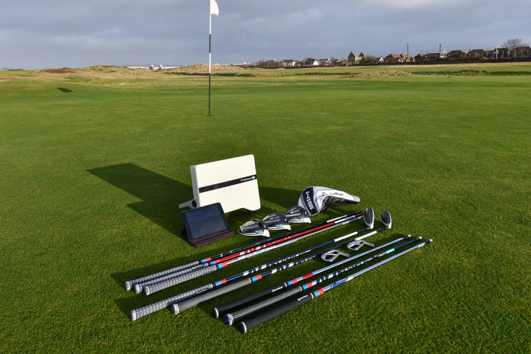 TaylorMade SIM at Prestwick Golf Club