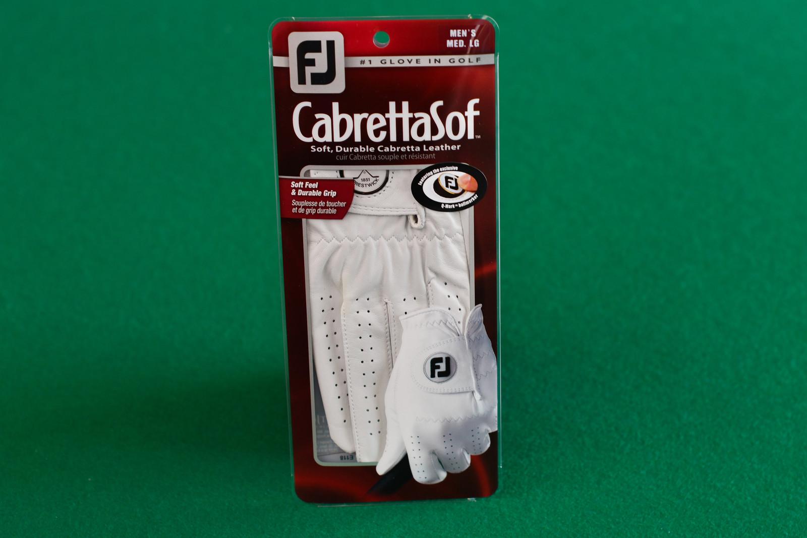 Footjoy CabrettaSof golf glove (Mens Left Hand)