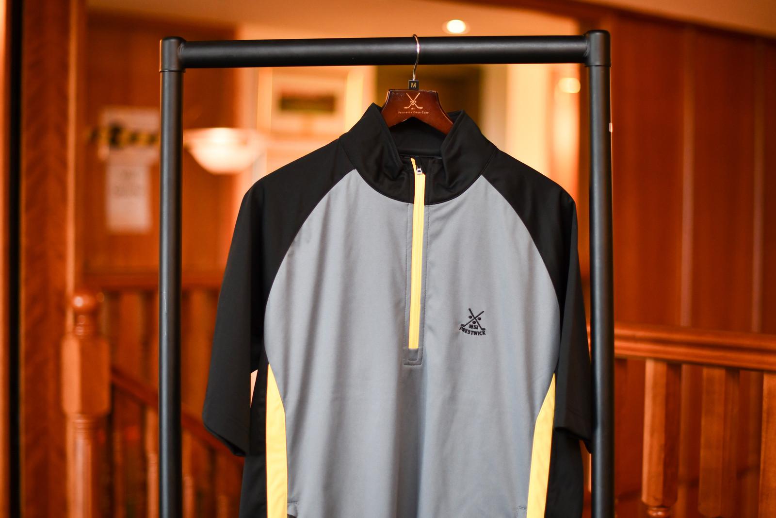 Sunderland Himalayas Jacket 1/2 sleeve (Black/Grey/Yellow)