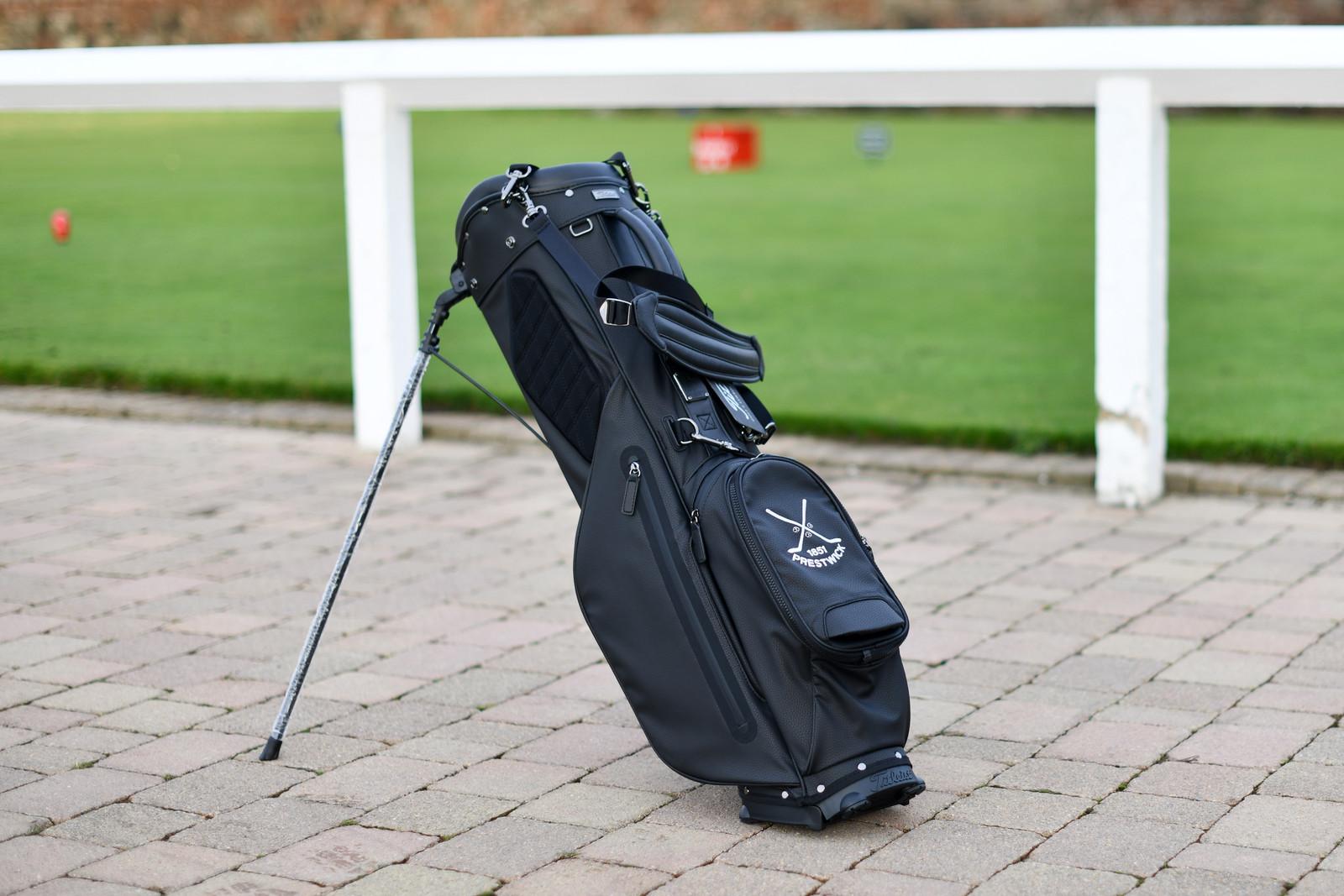 Titleist Linksmaster Golf Bag - Black