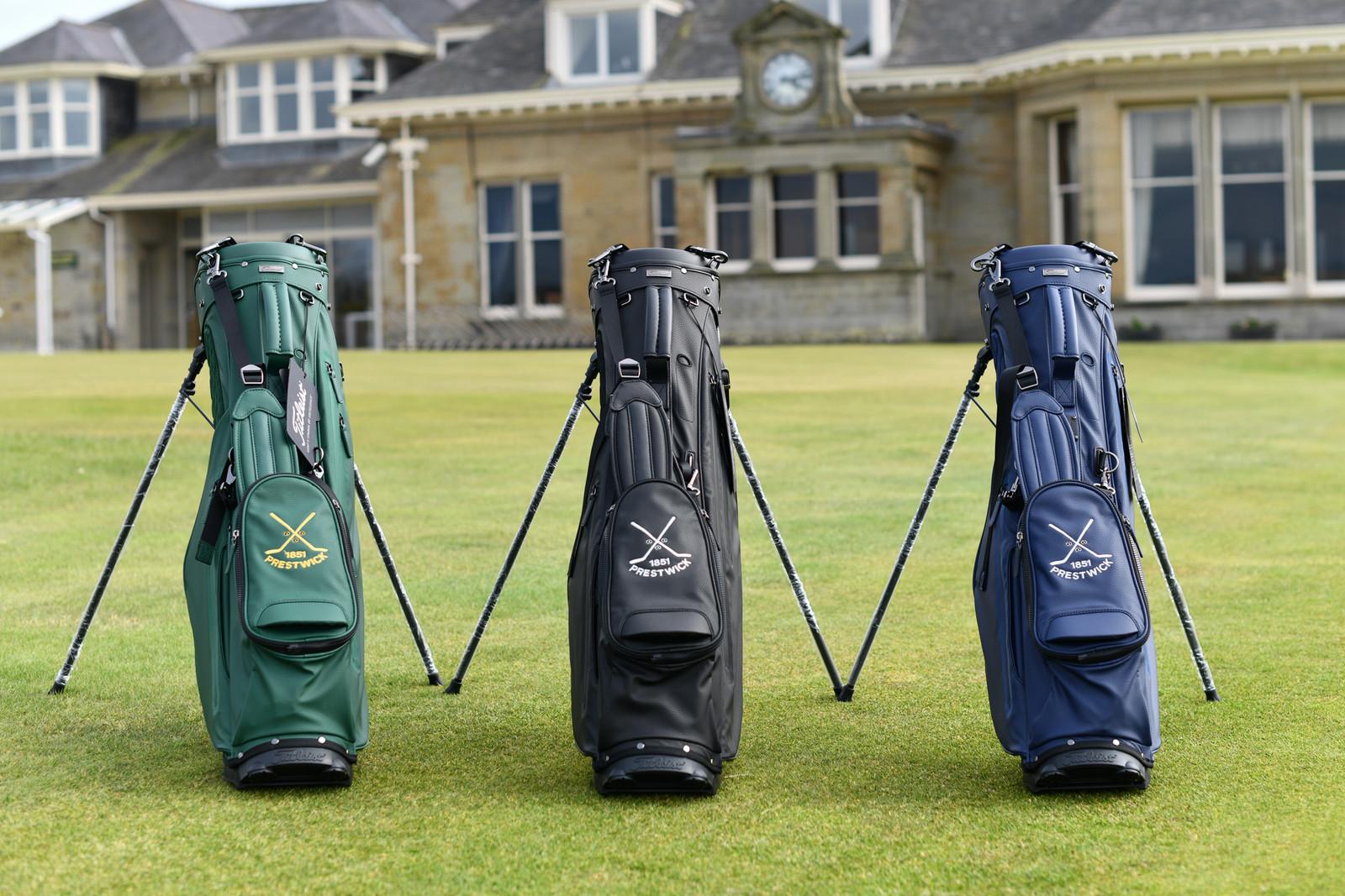 Titleist Linksmaster Golf Bag - Green