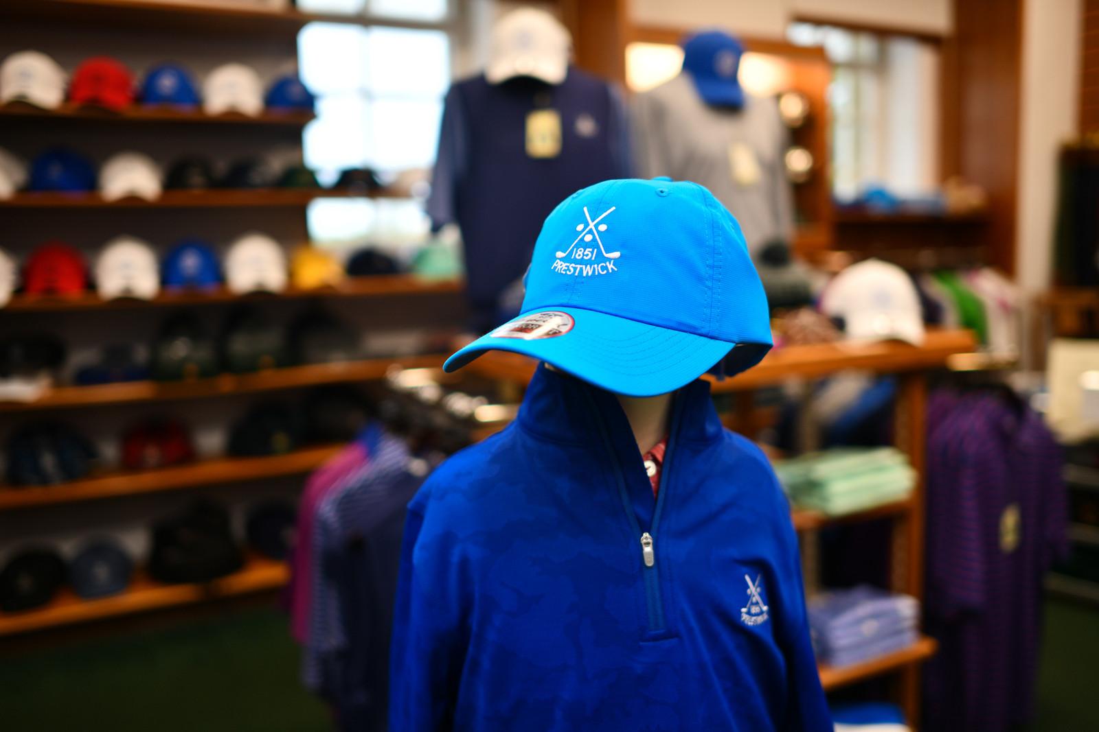 Kids Prestwick Imperial Cap - Blue