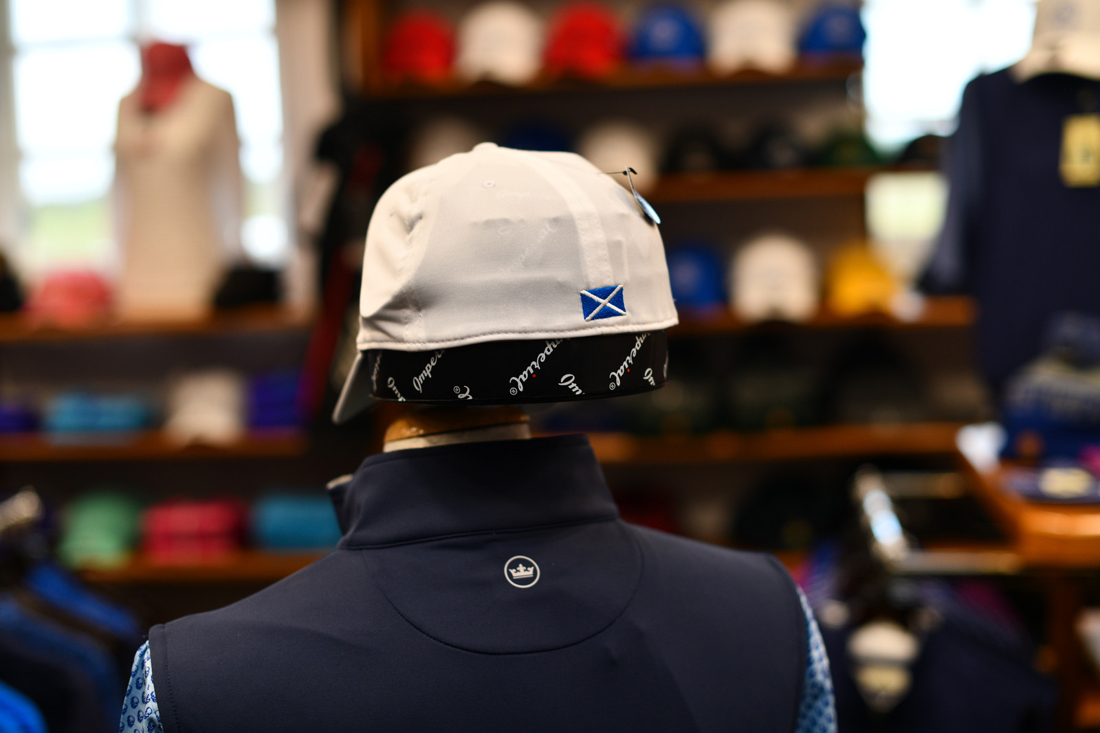 Prestwick Imperial Fitted Baseball Cap - White