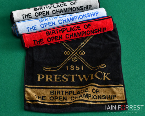 'Birthplace of The Open Championship' Towel