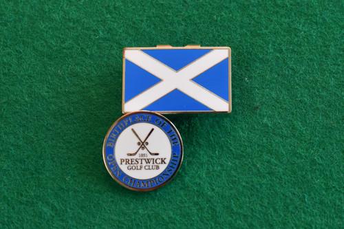 Prestwick Golf Club Cap Clip