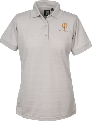 Prestwick Collection Kate Lord Ladies Polo - Silver