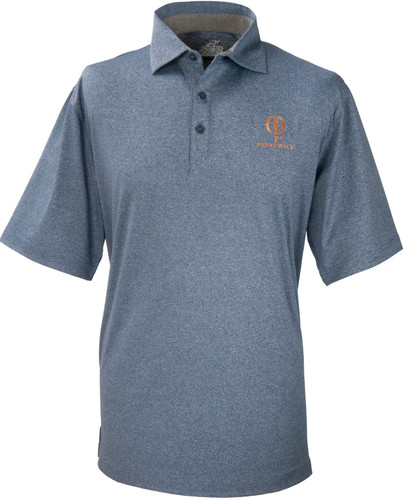 Prestwick Collection Ahead Mojave Polo - Marine Blue