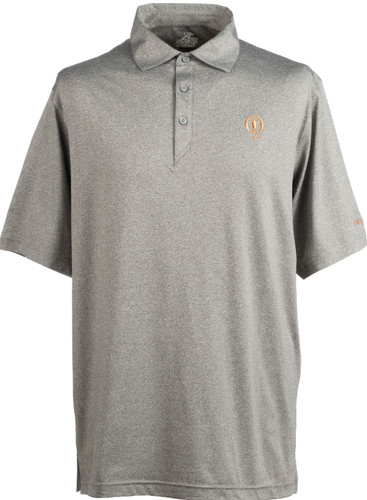 Prestwick Collection Ahead Mojave Polo - Carbon