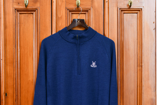 Kjus Freelite Kulm 1/2 Zip pullover - Navy
